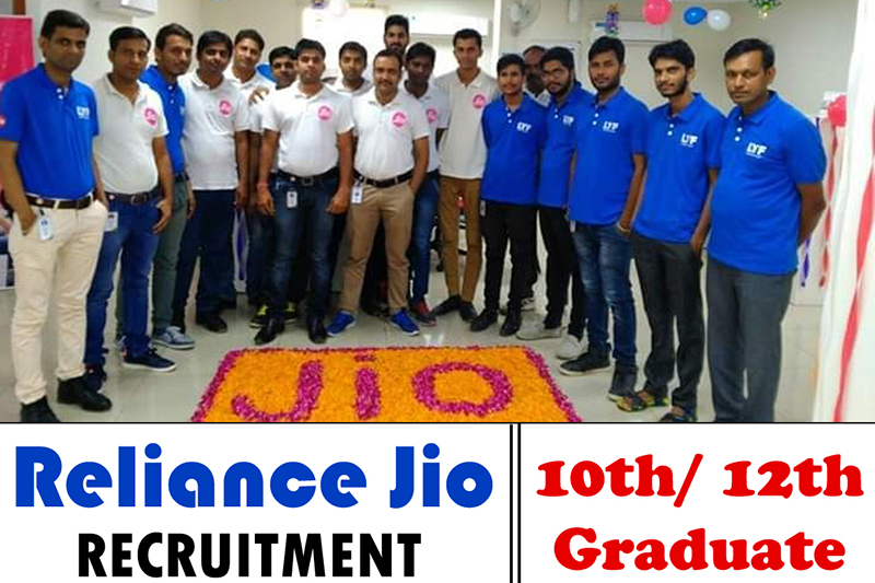 Reliance Jio is Hiring For Sales Officers